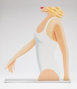 Alex KATZ - Sculpture-Volume - Coca Cola Girl (Cutout)