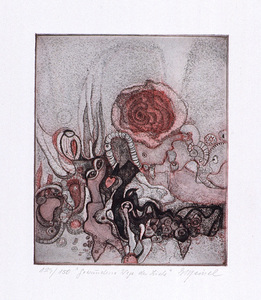 Edith MEINEL - Estampe-Multiple - Gewundene Wege der Liebe
