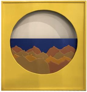 Claude GILLI - Pintura - Jaune