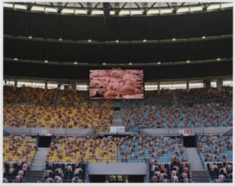 Spencer TUNICK - Photo - Austria 1 (Ernst Happel Stadion)