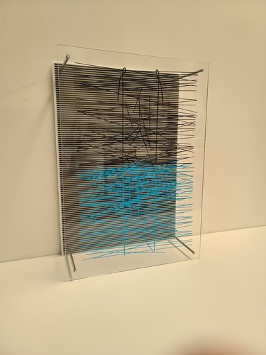 Jesús Rafael SOTO - Grabado - La escalera azul