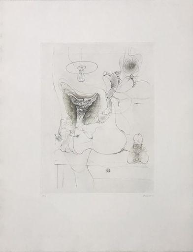 Hans BELLMER - Print-Multiple - Madame est servie