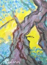 Carlo LEVI - Gemälde - Senza titolo (Tronchi)