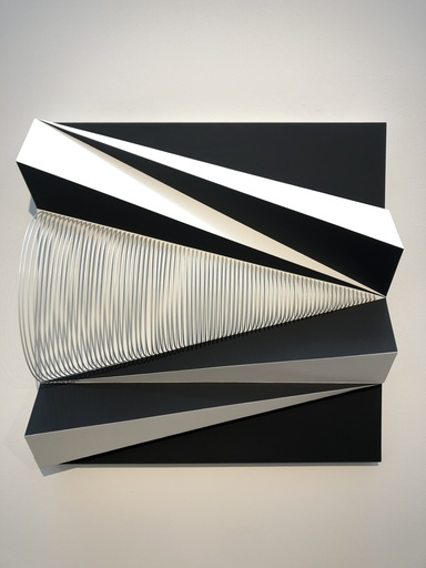 Fabrice AINAUT - Sculpture-Volume - Triangle mobile 02