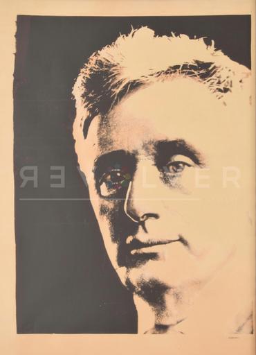 Andy WARHOL - Grabado - Louis Brandeis (Unique)