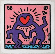 Keith HARING - Stampa Multiplo - Untitled