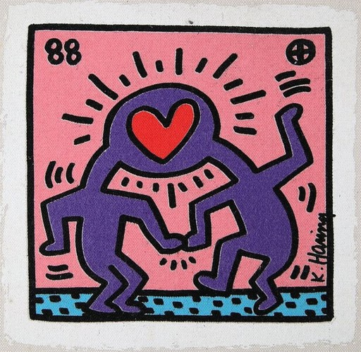 Keith HARING - Print-Multiple - Untitled