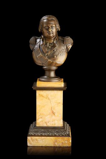 Louis François JEANNEST - 雕塑 - Le Roi Louis XVIII