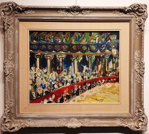 Carlos NADAL - Painting - Opera interior