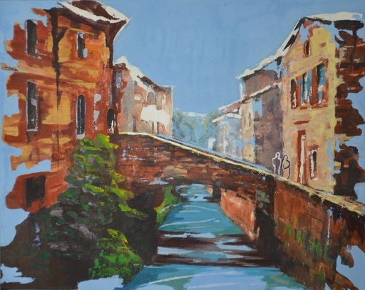 Diana KIROVA - Gemälde - Gubbio I