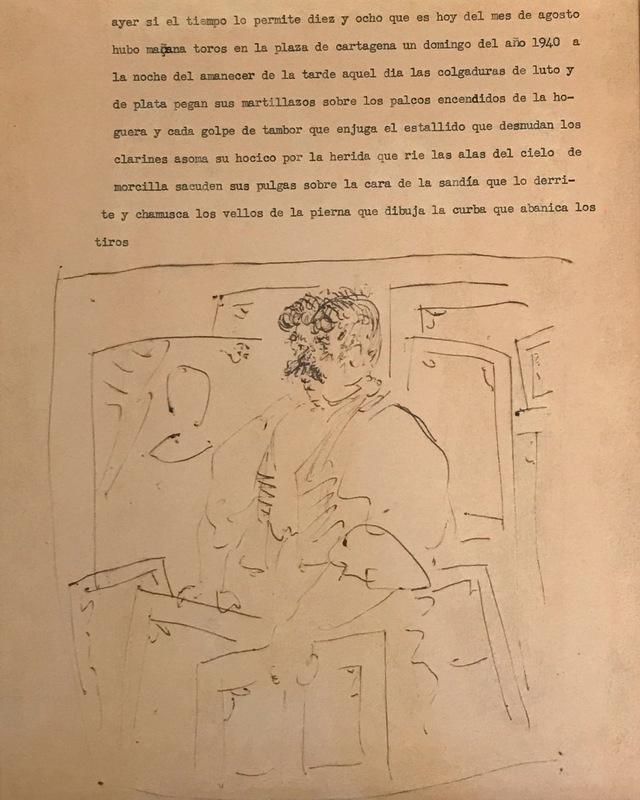 Pablo PICASSO - Dibujo Acuarela - Marchand de tableaux