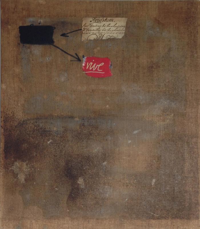William XERRA - Peinture - Vive