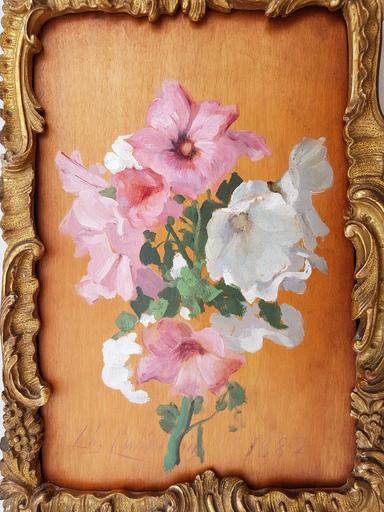 Charles Josuah CHAPLIN - Pintura - Jetée de fleurs