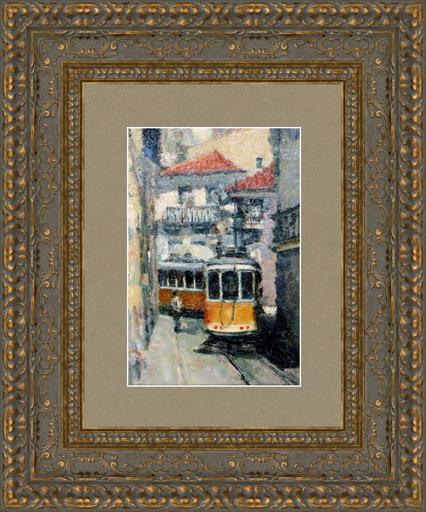 Levan URUSHADZE - Gemälde - Escolas Gerais street. Lisbon