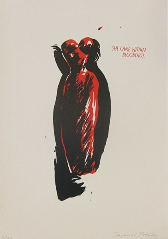 Raymond PETTIBON - Print-Multiple - No Title (She Came Within Bloodshot)
