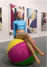 Carole FEUERMAN - Escultura - Bibi on the Ball