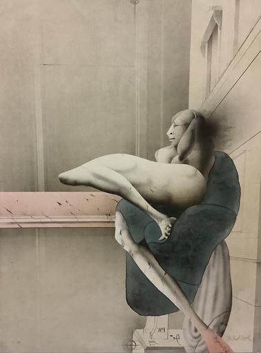 Paul WUNDERLICH - Estampe-Multiple - Der Morgen (nach Michelangelo)