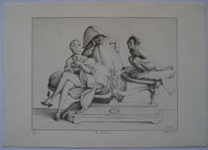 Claude VERLINDE - Grabado - LITHOGRAPHIE SIGNÉE AU CRAYON NUM/300 HANDSIGNED LITHOGRAPH