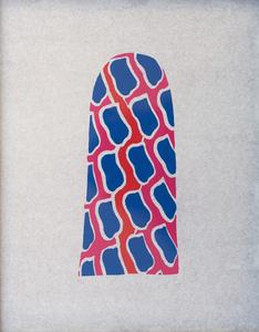 Claude VIALLAT - Print-Multiple - La niche de Saint Antoine