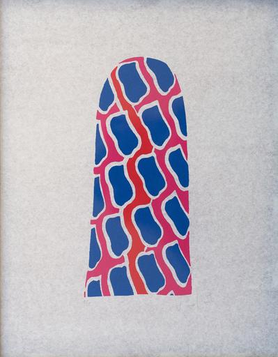 Claude VIALLAT - Stampa Multiplo - La niche de Saint Antoine