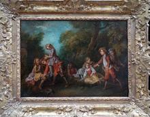 Nicolas LANCRET (1690-1743) - Jeux d'enfants, dit « le jeu du cheval fondu »