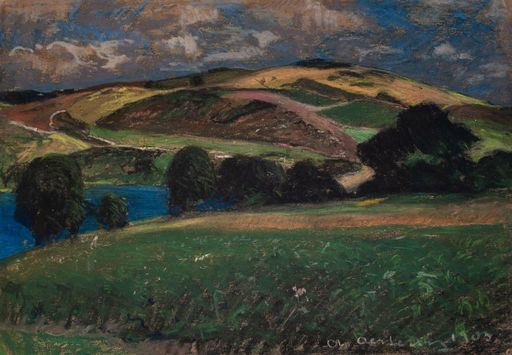 Alfred OESTERITZ - Drawing-Watercolor - Landschaft