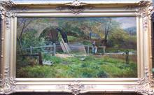 Sidney Richard PERCY - Peinture - At the Mill