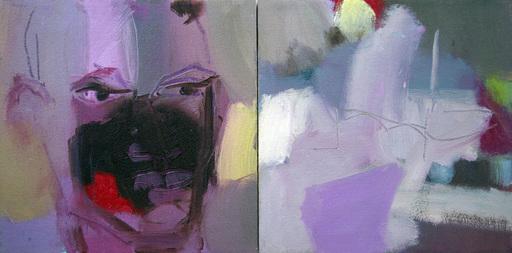 Klaus Karl MEHRKENS - Painting - senza titolo