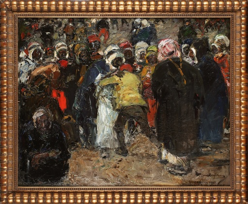 Hans LOOSCHEN - Painting - Ramadanfest