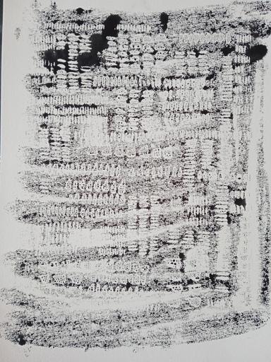 "Galina VINDALOVSKAIA - Drawing-Watercolor - ""All artists listed Artprice"" Abstract Drawing Black White"