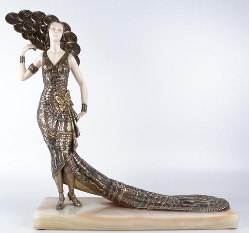 H. MOLINS - Escultura - Sin titulo