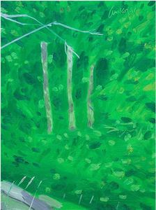 Alex KATZ, Trees in Maine