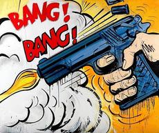Dave WHITE - Grabado - Bang! Bang!