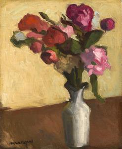 Albert MARQUET - Pittura - Bouquet de fleurs