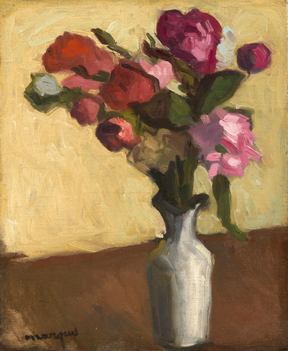 Albert MARQUET - Gemälde - Bouquet de fleurs