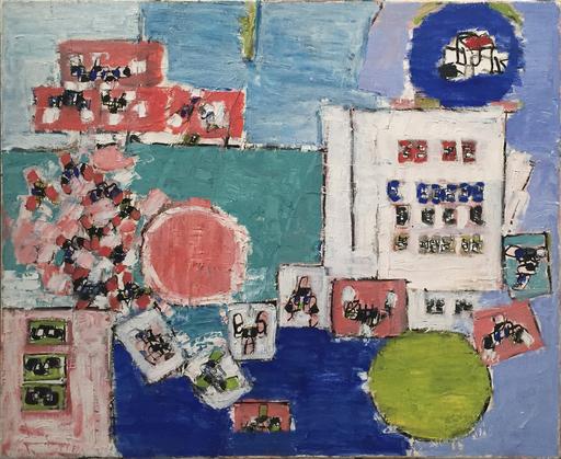 Natalia DUMITRESCO - Gemälde - L. A. Freeways 6, 1973