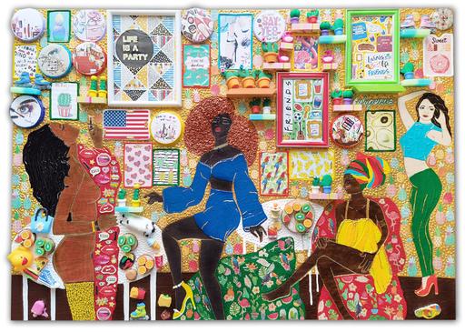 Irina BAST - Skulptur Volumen - Life is a party