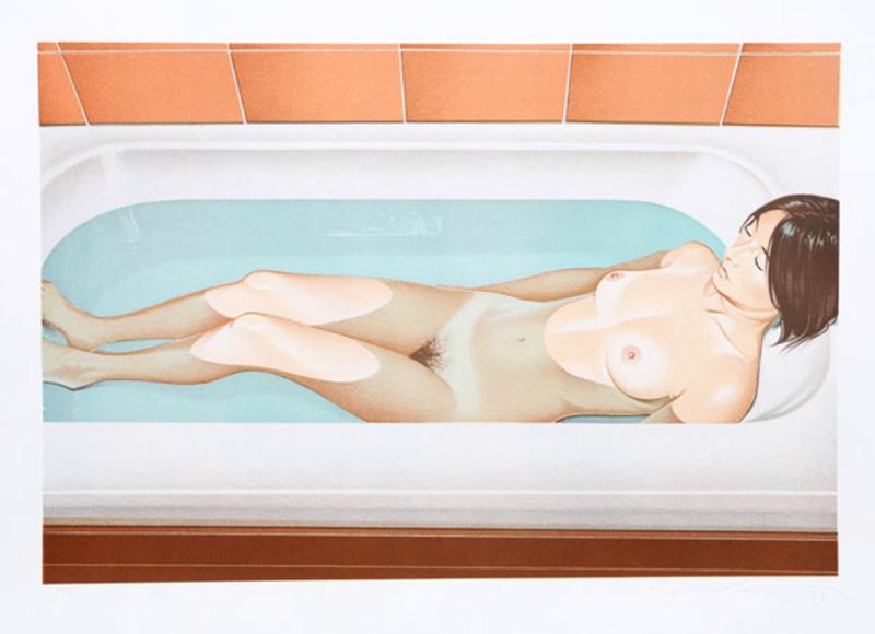 Mel RAMOS - Druckgrafik-Multiple - Bonnards bath