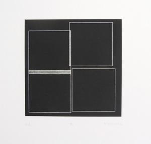 Véra MOLNAR - Stampa Multiplo - 4 carrés 4 modes