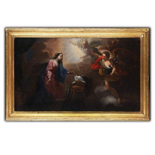 Paolo DI FALCO - Pintura - Annunciazione della Vergine