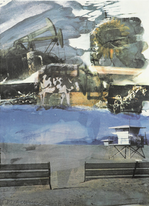 Robert RAUSCHENBERG, L.A. Uncovered #5