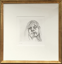 Lucian FREUD - Print-Multiple - Head of a Woman