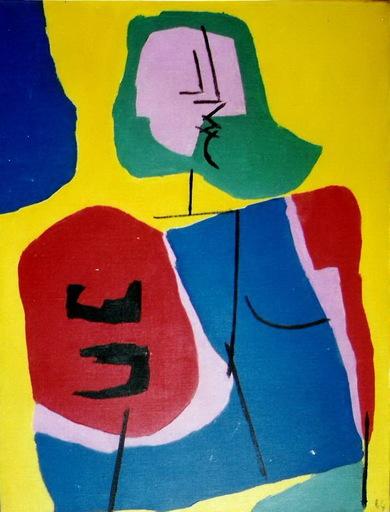 Luis SEOANE LOPEZ - Painting - MUJER