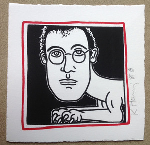 Keith HARING, SELF PORTRAIT