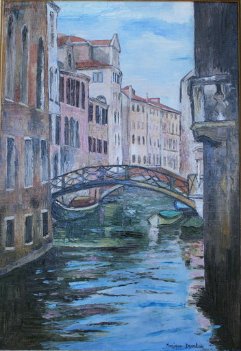 Monique DEVALOIS - Peinture - Venise (Ponts)