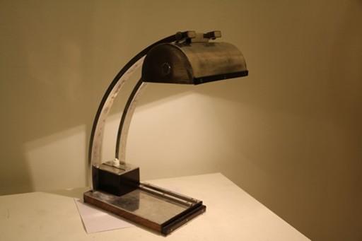 Lampe Moderniste dans l'esprit de Le Chevallier, années 20