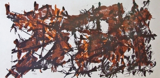 Jean-Paul RIOPELLE - Estampe-Multiple - Album 1967
