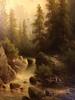 Albert RIEGER - Pintura - Torrents (2 huiles sur panneau)