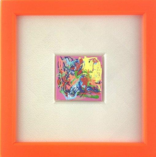 Nicole LEIDENFROST - Gemälde - Ein Garten mit Herz