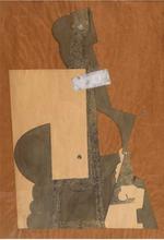 Henri LAURENS - Dessin-Aquarelle - Composition avec personnages